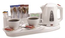 Northmace Welcome Tray | Hotel Kettle in White